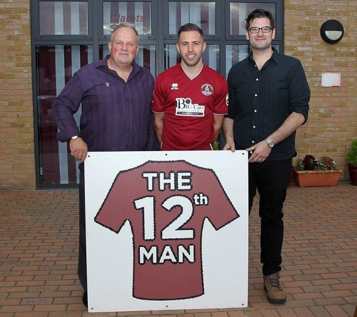 Robbie Willmott - 12th Man 2016-17